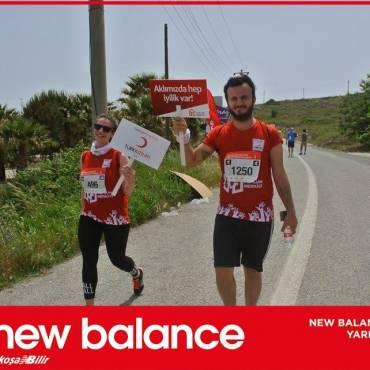 Kızılay, New Balanca Bozcaada Yarı Maratonu'nda